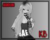KB blonde hair addon