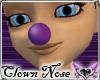*E* Purple Clown Nose