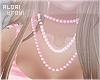 ♔ Blush Beads