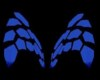 Neon Blue Digital Wings