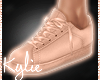 Pure Rose Gold Sneakers