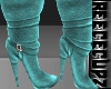 (BE)Teal boots