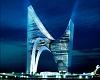 Американец Даниэль Либескинд предложил построить здание в виде неправильной арки...