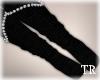 ~T~Ebony Kitten Socks