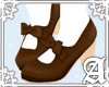 Rosalie Shoes~ Brown WII