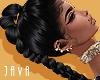 -J- Ariana black silk