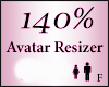 Avatar Resize Scaler 140