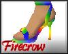 Rainbow Heels (M)