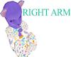 Lavender Furry Baby R