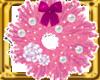 WREATH-PINK ANIM LITES