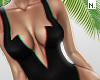 N. Bodysuit. Black. RLL