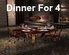 [BD]Dinner for 4