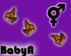 BA Butterfly Cloud Orang