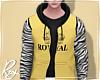 Yellow ROYAL Hoodie