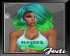 Jaileria Teal Green Fade
