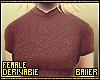 F T-Shirt Red Regular