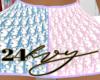 CD Oblique Skirt
