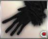 *SC-Fur Gloves Black