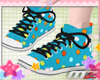Kawaii Blue Converses