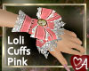 .a Cameo Pink Cuffs