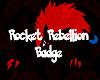 [R] R Rocket Badge