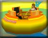 Fantastic waterpark raft