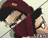 Zkr|Hair+Beanie:Wine