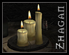 [Z] DA Candles on Plate