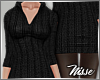 n| Black Knitted Dress
