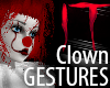 IT movie: Clown Gestures