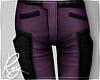 Violet Biker Jeans