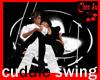 cuddle swing black/white