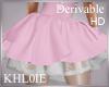 K  derv add  pink skirt