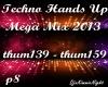 Techno Mega Mix 8/18