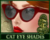 Cat Eye Shades Red