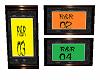 R&R 3 SET FRAMES