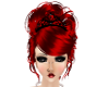 Zalah Hot Red Hair Tiara