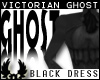 -©p Ghostly Black Dress