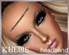 K cave girl head band