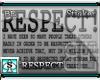 [BE] Respect! BLK TXT