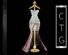 CTG NYE SILVER/GOLD GOWN