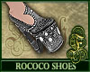 Rococo Shoes Silver
