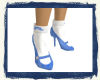 (MLe)Blue Shoes and sock