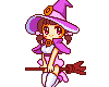 purple witch (animated)