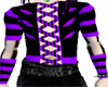 Cyber corset/purple