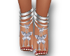 Diamond butterfly feet