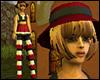 +Female Stilt Dancer+