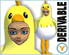 Chick in Egg Costume
