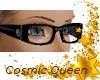 Black Glasses w- Diamond
