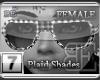 [BE]White Plaid|Shades F